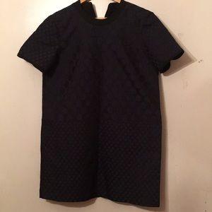 Beautiful madewell dress size large navy blue